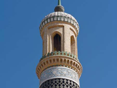 Minaret of Id Kah Mosque