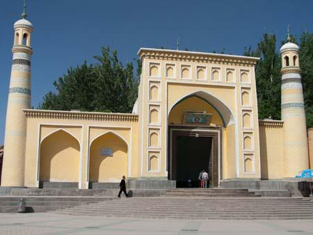 Id Kah Mosque, the largest mosque in China