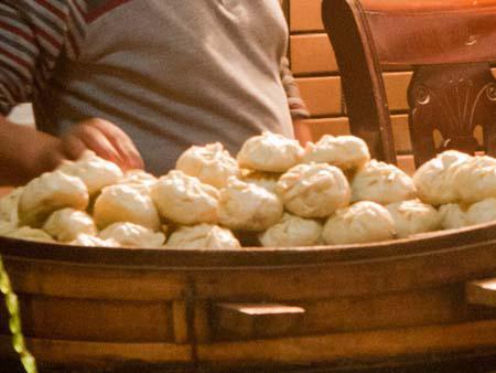Chuchura - steamed dumplings