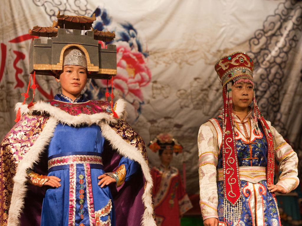 Qinghai Hu, Xining, China - Sonya and Travis