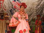 The traditional dress of many Chinese ethnic people
