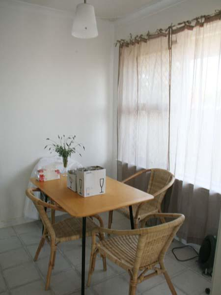 Dining room after renovations