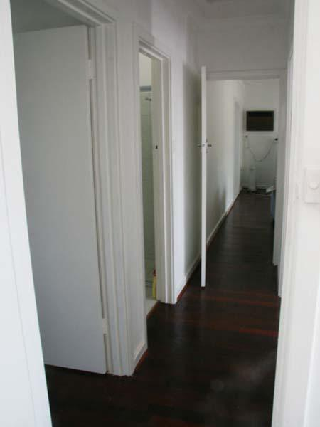 Hallway after renovations
