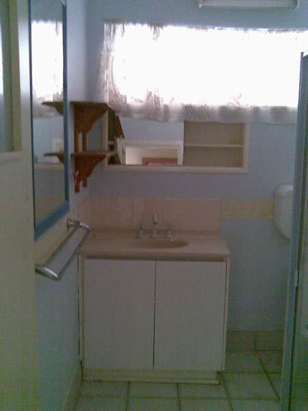 Bathroom before renovations