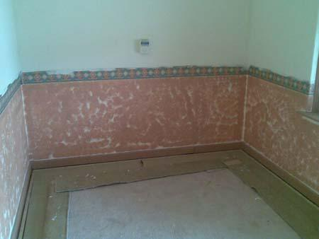 Bedroom before renovations