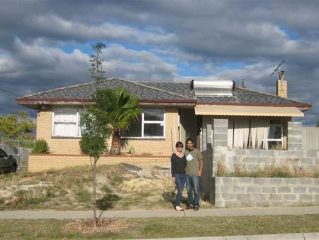 Sonya and Travis's first home