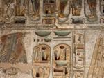 Medinet Habu Temple - Coloured hieroglyphs