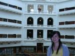 Inside Melbourne Library