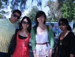 At the Zoo with Dan, Jo and Priya