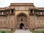 One of the entrance gates to Diwan i Am Square