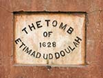 The Tomb of Etimad Ud Doulah 1628