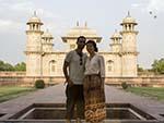 Sonya and Travis at the Baby Taj