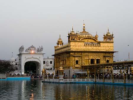 The Darbar Sahib and North entrance gate