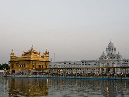Golden Temple and clock tower