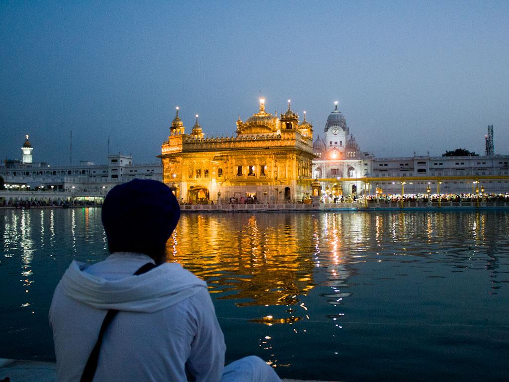 golden temple  amritsar  punjab  india