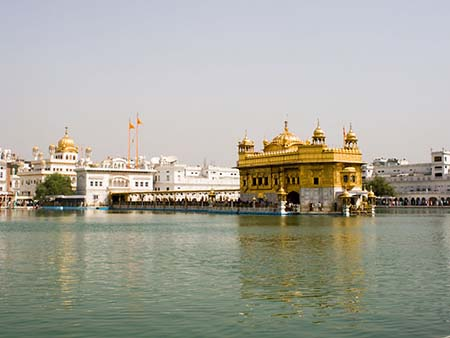 The Golden temple and Akal Takht