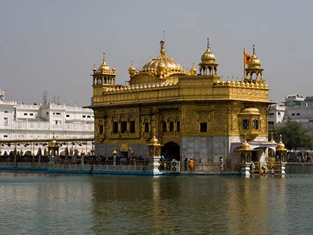The Golden Temple or Harmandir Sahib