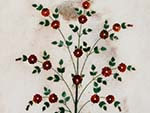 Diwan-i-Aam with marble inlay of flowers