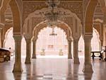 Marble floored chamber of Diwan-I-Khas