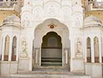 Entrance to the Hawa Mahal inner court