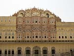 Rear view of the Hawa Mahal