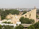 The Jantar Mantar complex seen from the Hawa Mahal