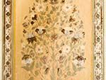 Fresco of a bush found inside the Nahargarh Fort palace