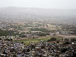 View of Jaipur old city from Aravalli Hill