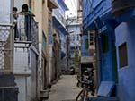 The blue alleyways of Jodhpur
