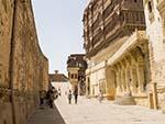 Surajpol gate providing access to a museum