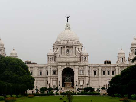 Facade of the Victoria Memorial Hall