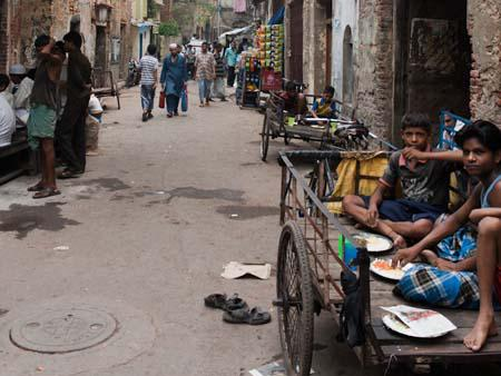 Children on the street of Kolkata