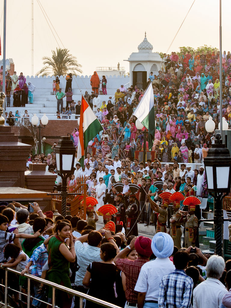 Wagah Border Ceremony Indian Pakistan Border Sonya And Travis