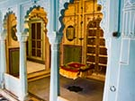 Zenana Mahal (Womens Palace) with a swinging chair
