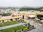 Overlooking Manek Chowk at City Palace