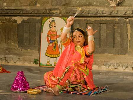 Tera Tali dance from Rajasthan
