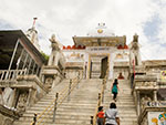 Elephant-flanked flight of steps Jagdish Temple