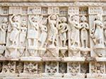 Stone carvings at Jagdish Temple