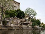 Bagore ki haveli Ghat with Jagat Niwas Ghat further on