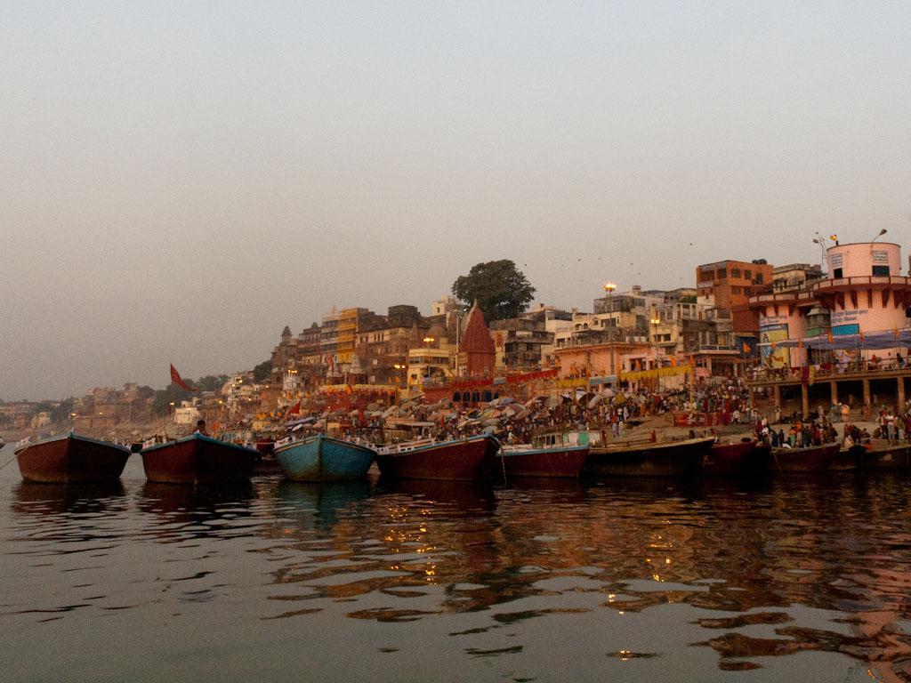A Cruise Along The Holy Ganges River Varanasi India