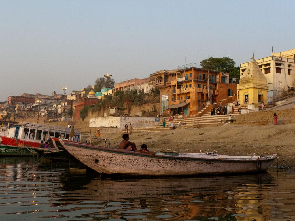 A Cruise Along The Holy Ganges River, Varanasi, India