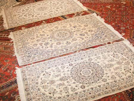 The three Nian carpets