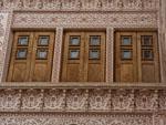 Wooden doors of Ameriha Historic House