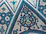 Mosaics at the Soltan Amir Ahmad Historic Bath