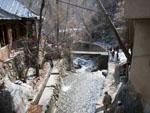 River flowing through the Alborz mountain range