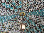 Beautiful mosaic ceiling of Khalvat Karim Khani