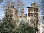 The Shams-ol-Emareh (Edifice of the Sun) found in Golestan Palace
