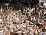Various brass knick-knacks at Friday Market