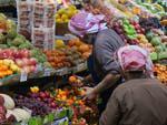 Souk Al-Mubarakiya vegetable market