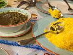 Naz Iranian Restaurant - Khoresh-e Ghormeh Sabzi